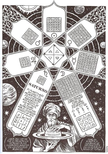 Habibi y los cuadrados mágicos III