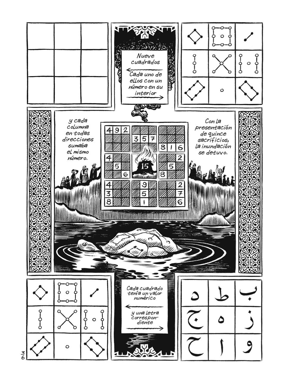 Habibi y los cuadrados mágicos I