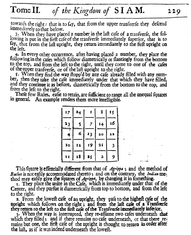 Habibi y los cuadrados mágicos II