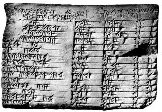 Una breve historia impresionista de la Trigonometría (I): de Babilonia a la India, por José A. Prado-Bassas