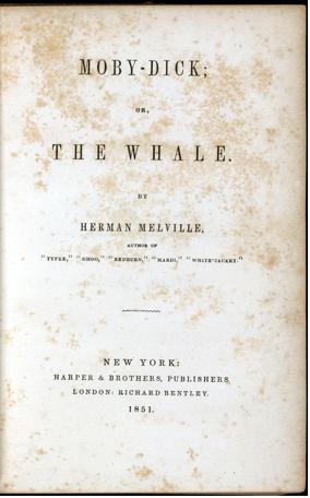 Moby Dick, un libro extraordinario