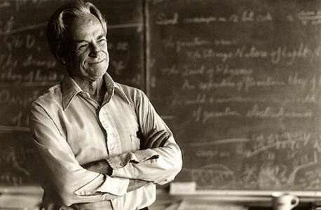 Feynman en la BBC, y siempre en el recuerdo