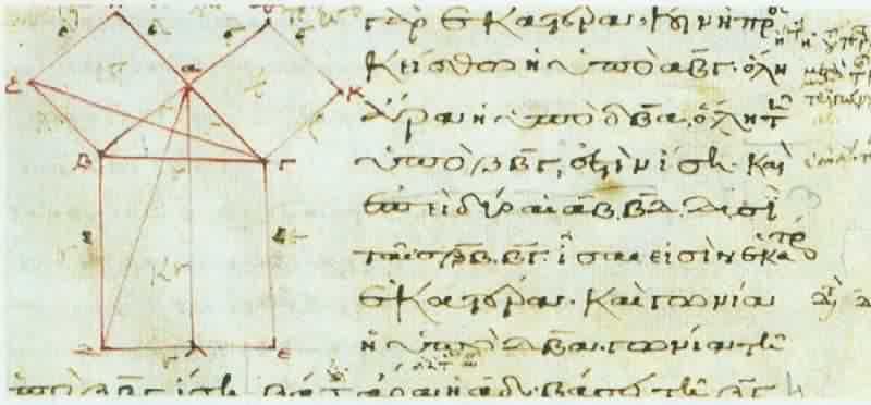 Imagen 7 – Esquema de la demostracion de Euclides