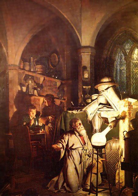 """El alquimista"" (1771) de Joseph Wright | Wikimedia Commons"