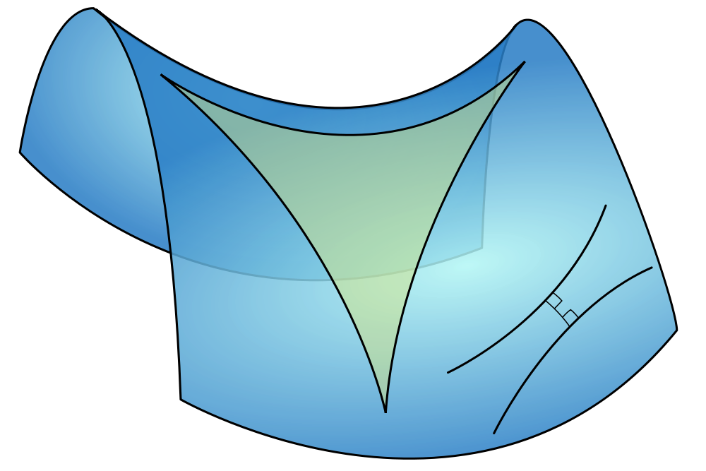 Los triángulos de luz y el sintético a priori