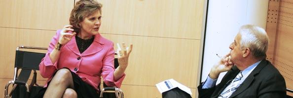 Katrina L. Kelner entrevistada por Félix M. Goñi