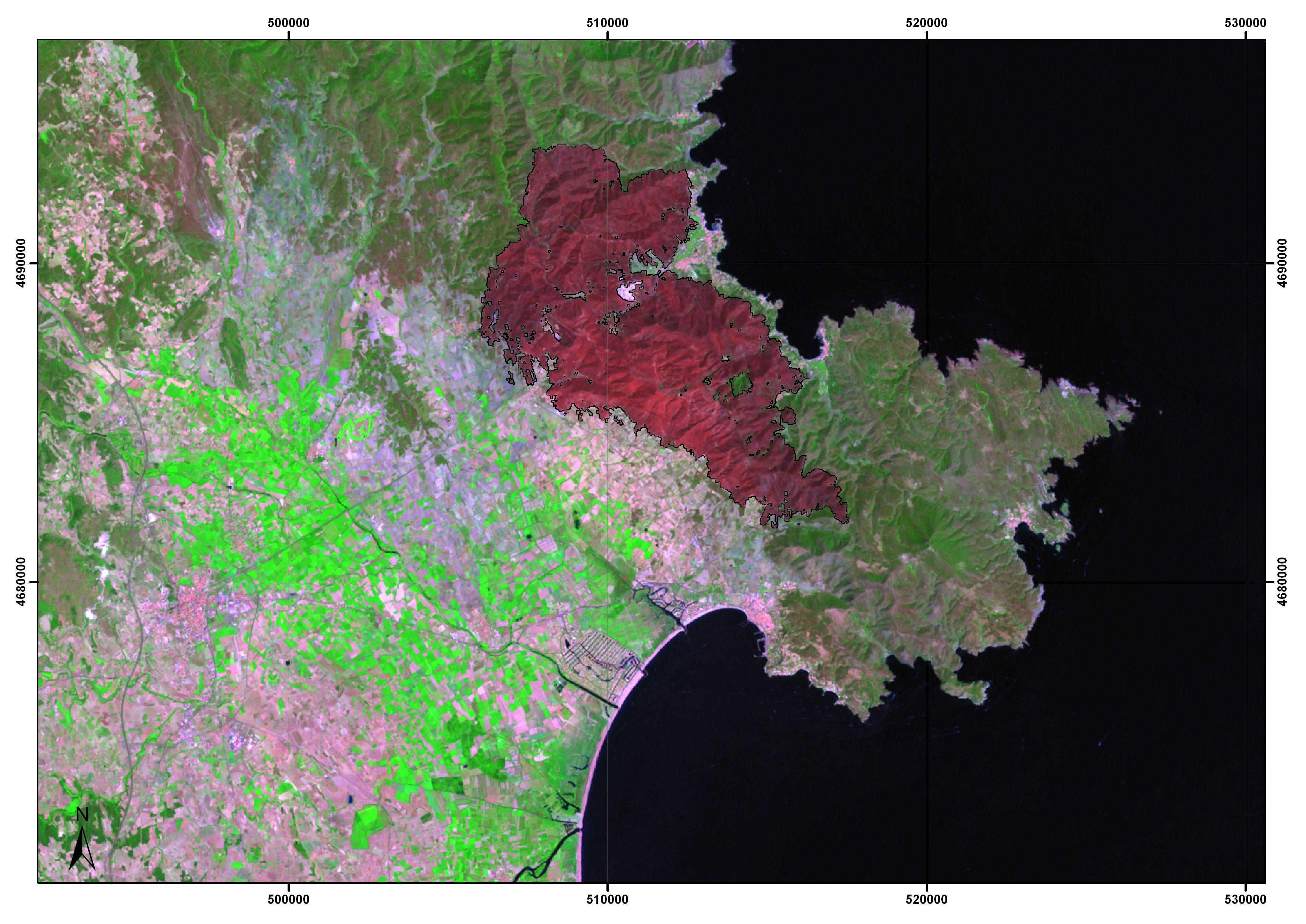 Cartografiando automáticamente áreas quemadas a nivel global