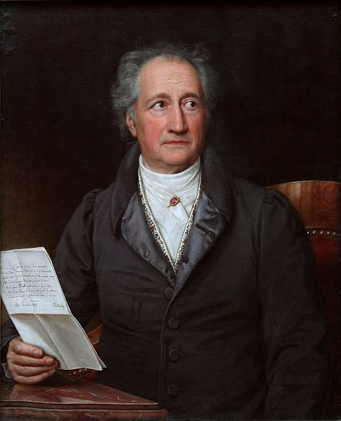 Johann Wolfgang von Goethe (1828)
