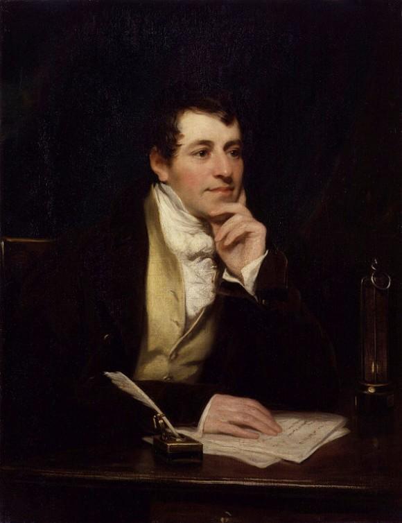 Humpry Davy (alrededor de 1830)