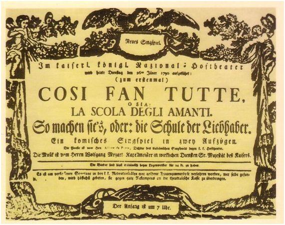 """La teoría de grafos y """"Così Fan Tutte"""""""