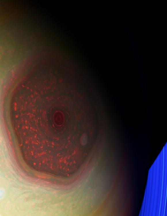 A vueltas con el hexágono de Saturno