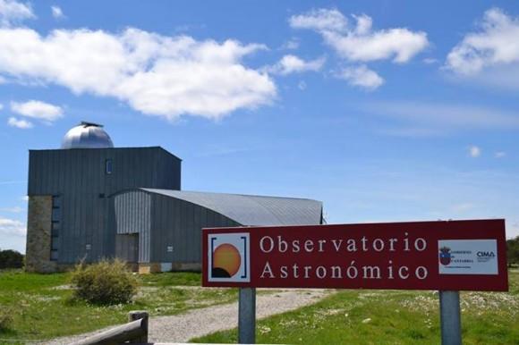 Observatorio astronómico de Cantabria. Foto: Izaskun Lekuona