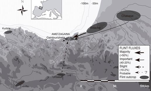 El territorio económico de los cazadores-recolectores del Paleolítico Superior