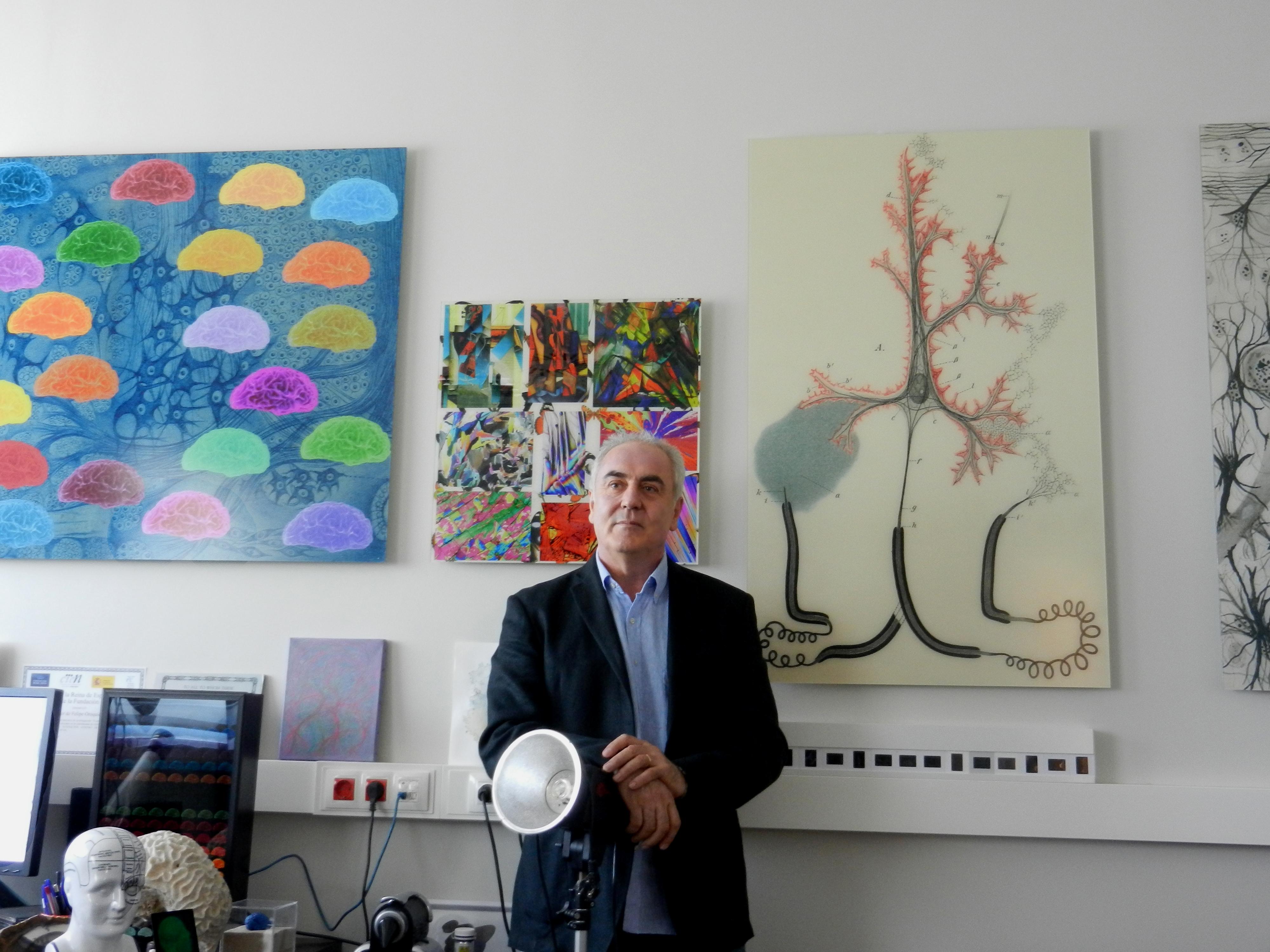 """""""Análisis del cerebro: Innovación tecnológica y estrategia interdisciplinar"""" por Javier de Felipe"""
