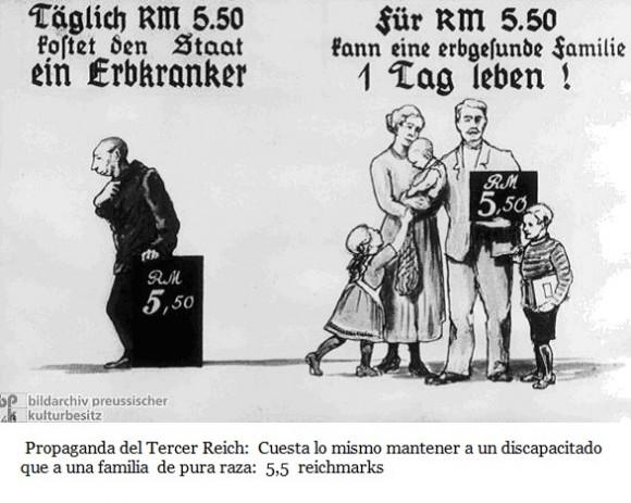 eugenesia nacionalsocialismo propaganda