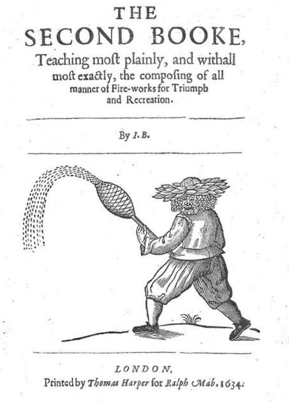Tomo dedicado a los fuegos artificiales de la obra de John Bate (como no podía ser de otra manera, esta era la parte favorita de Newton)