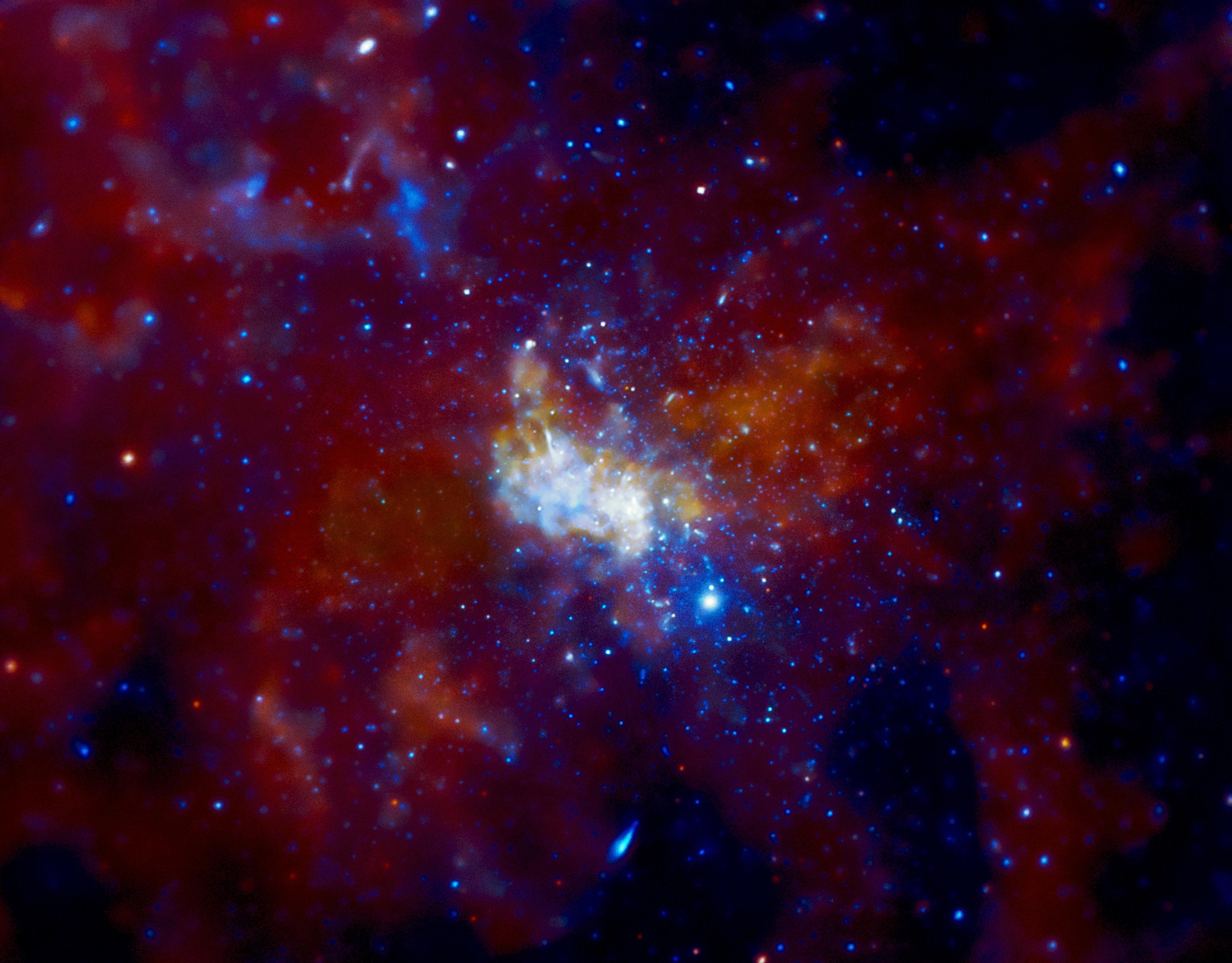 El desconocido centro de la Vía Láctea