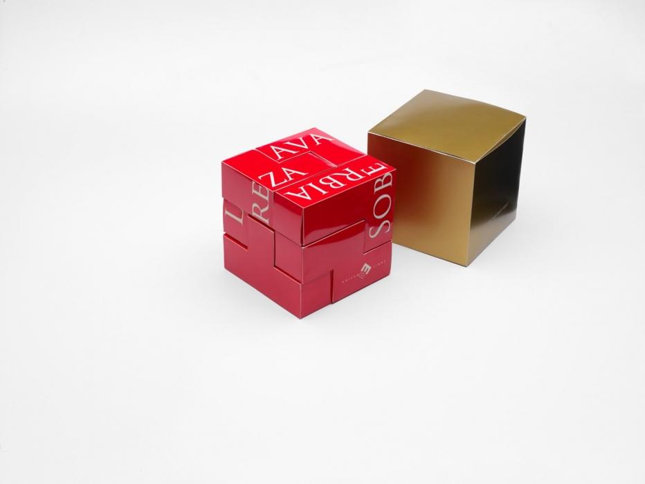 """Caja de bombones """"pecados capitales"""", diseño realizado por Santos Bregaña, para el maestro chocolatero Enric Rovira"""