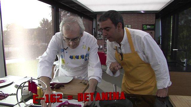 Ciencia en la cocina: Chipirones al E-162