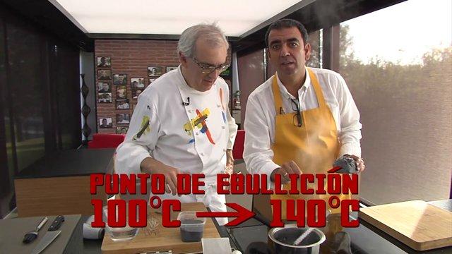 Ciencia en la cocina: El carbón de los Reyes Magos