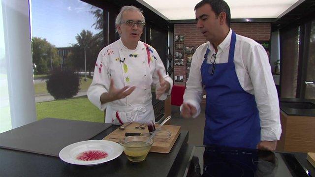 Ciencia en la cocina: Fractal de cochinilla