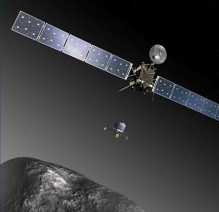 La misión espacial Rosetta: Una ventana al origen del sistema solar