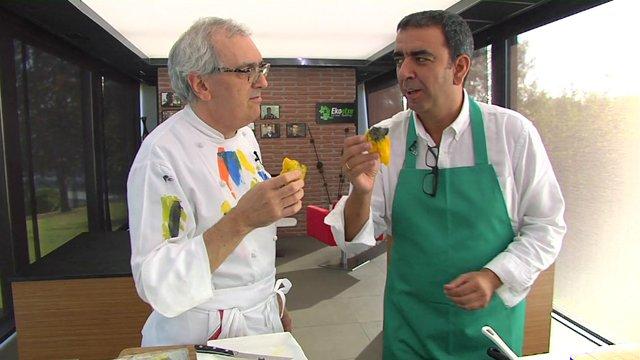 Ciencia en la cocina: crujiente de mandioca con queso de Paracelso