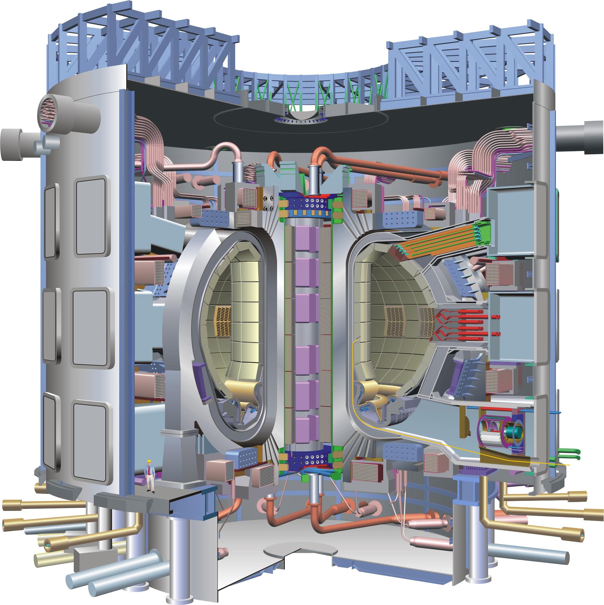Resultado de imagen de central de fusion nuclear