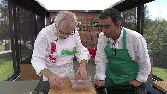 Ciencia en la cocina: huevos rebotantes