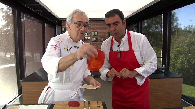Ciencia en la cocina: anchoas en papel de pimiento