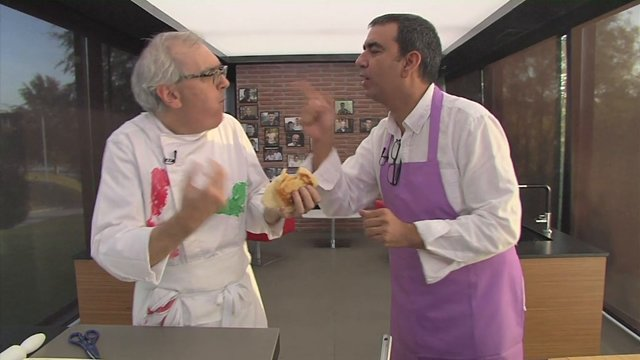 Ciencia en la cocina: bocata chorizo del chef