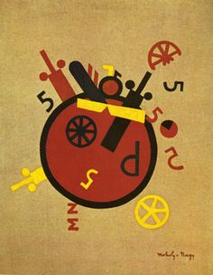 La gran rueda (1920-21), de Laszlo Moholy-Nagi