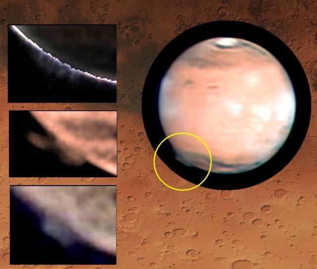 El sorprendente penacho de Marte