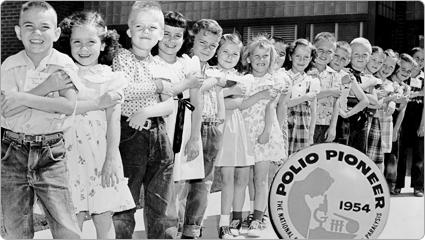 Los primeros niños con los que Jonas Salk probó su vacuna