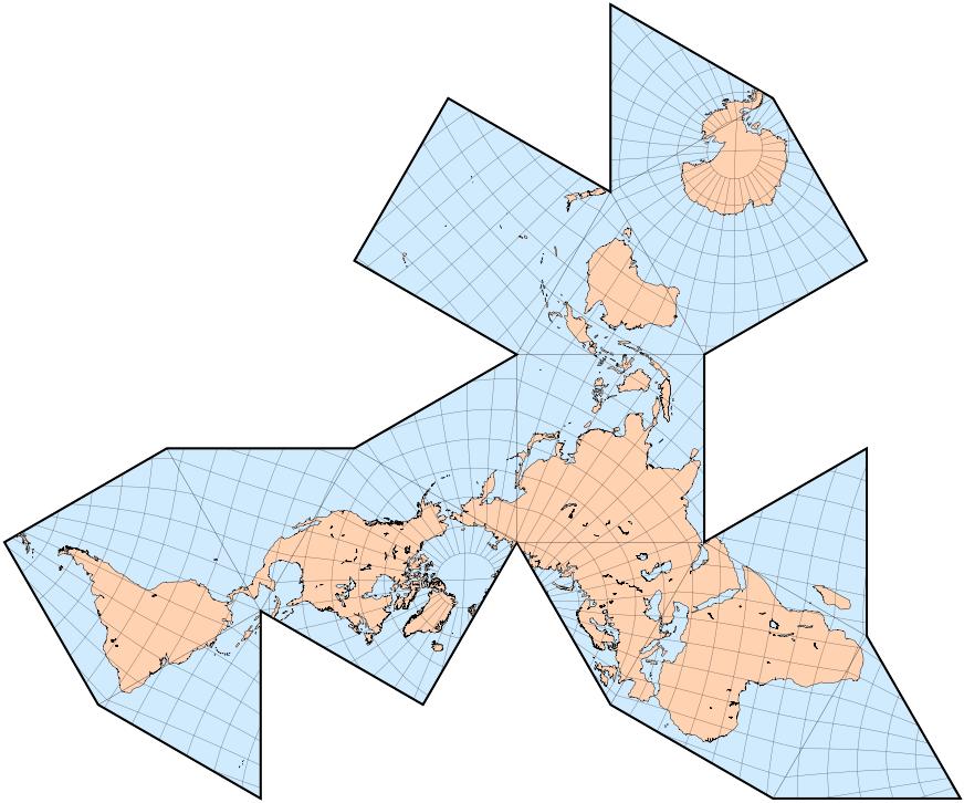 El mapa Dymaxion | Matemoci�n | Cuaderno de Cultura Cient�fica