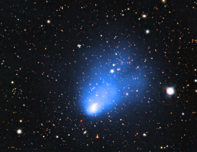 El análisis del supercúmulo «El Gordo» limita qué puede ser la materia oscura