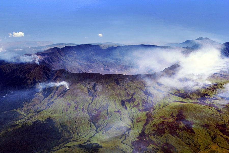 La gran erupción