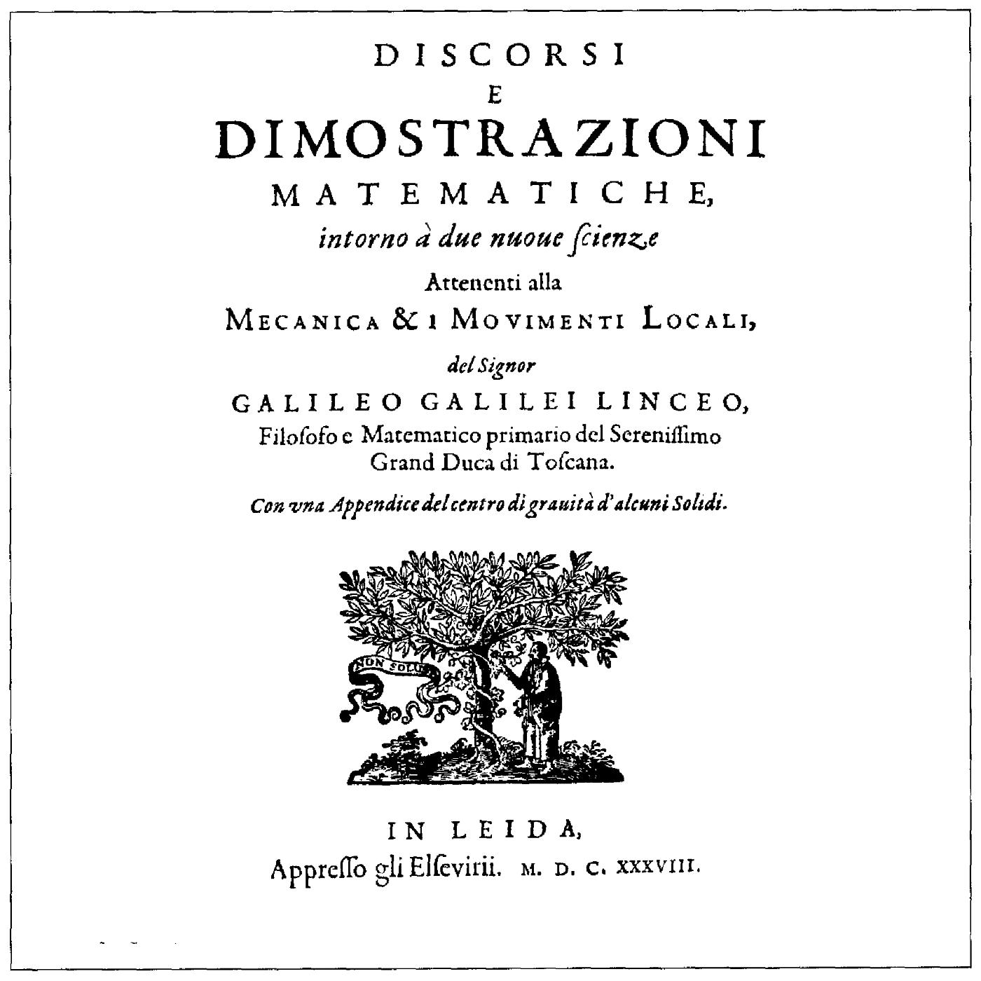 Galileo (II): aportaciones