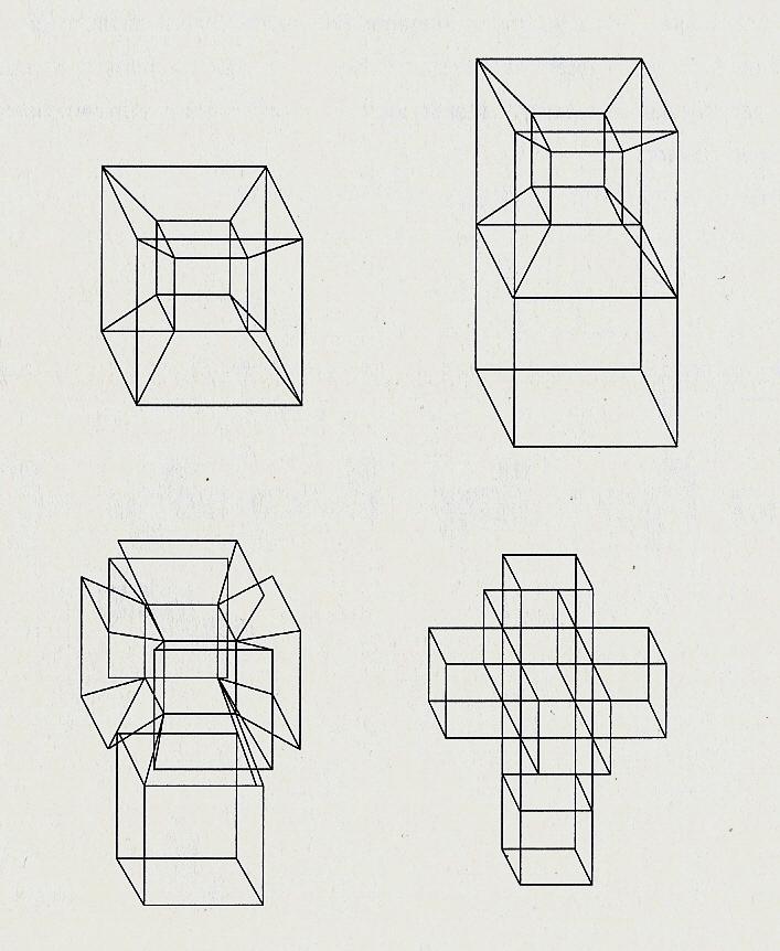Hipercubo, visualizando la cuarta dimensión (y 2) — Cuaderno de ...