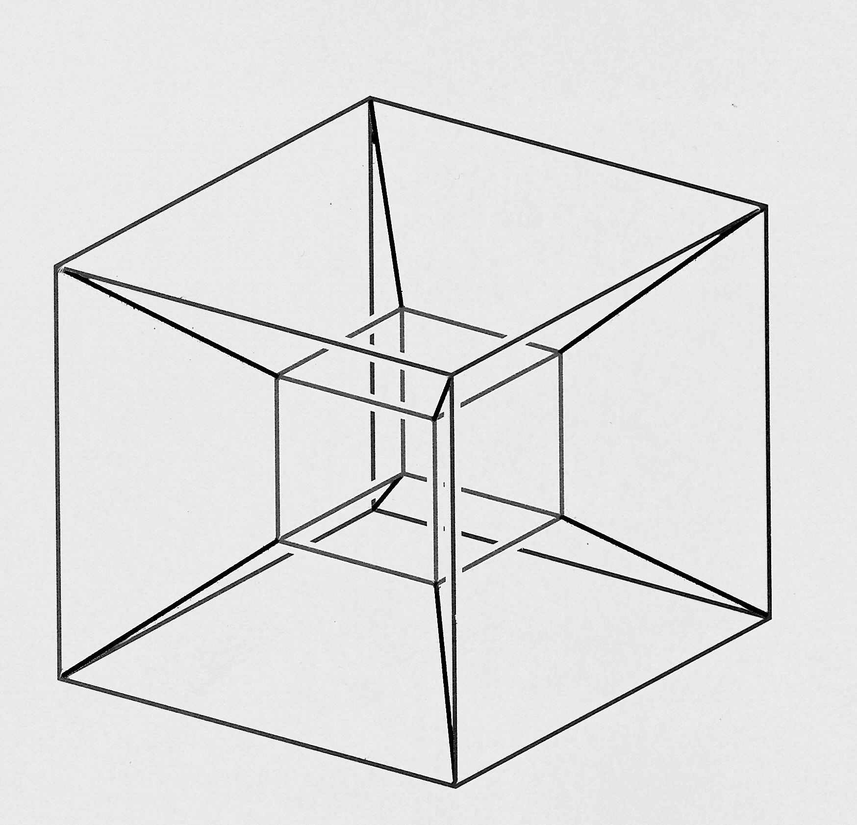 Hipercubo visualizando la cuarta dimensin  Cuaderno de Cultura