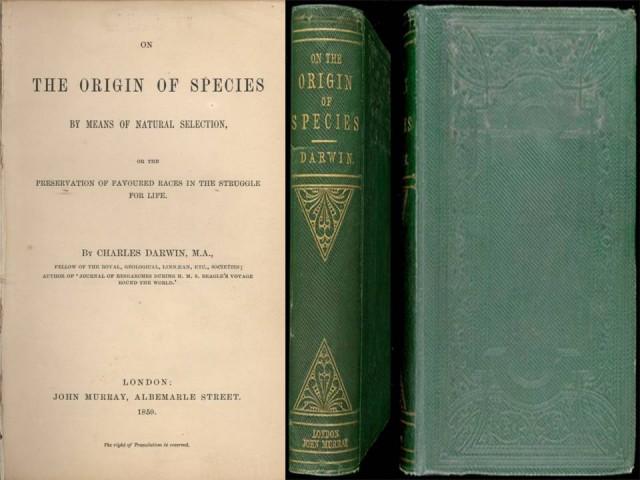 1ª EDICIÓN ORIGINAL 24 noviembre 1859. 1250 ejemplares agotados ese mismo día