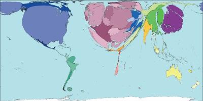 Cartogramas, una herramienta de información visual