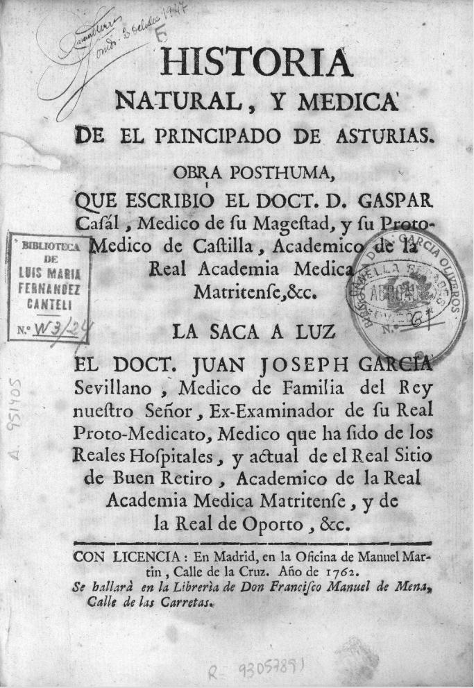 Los once presos que dieron la razón al primer epidiemólogo español