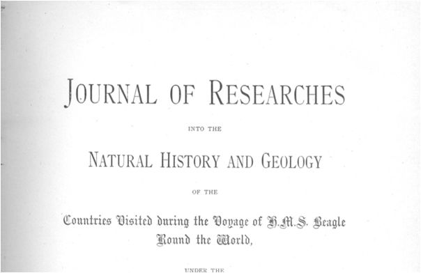 Journal of Researches, publicado por la editorial de Henry Colburn en 1839