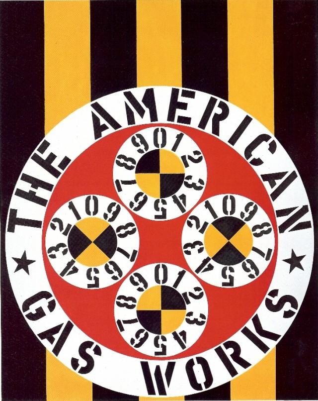 The American Gas Works, de Robert Indiana (1961-62)