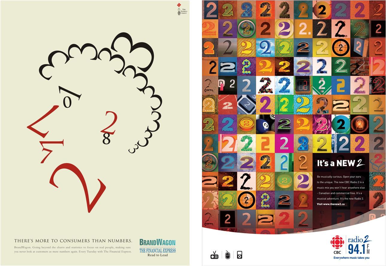 La tipografía de los números (1)