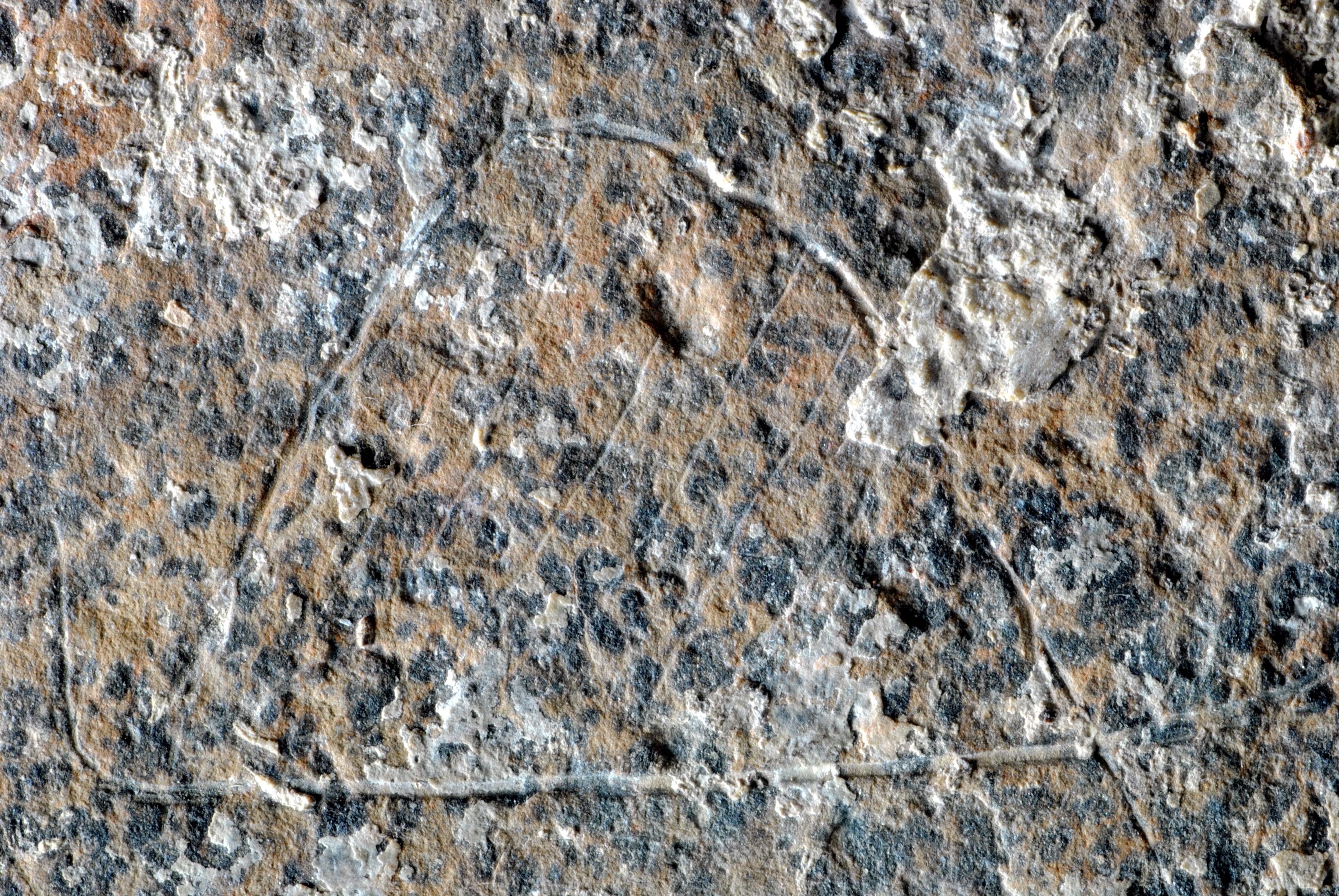 La representación de un campamento de cazadores hecha hace 13.000 años