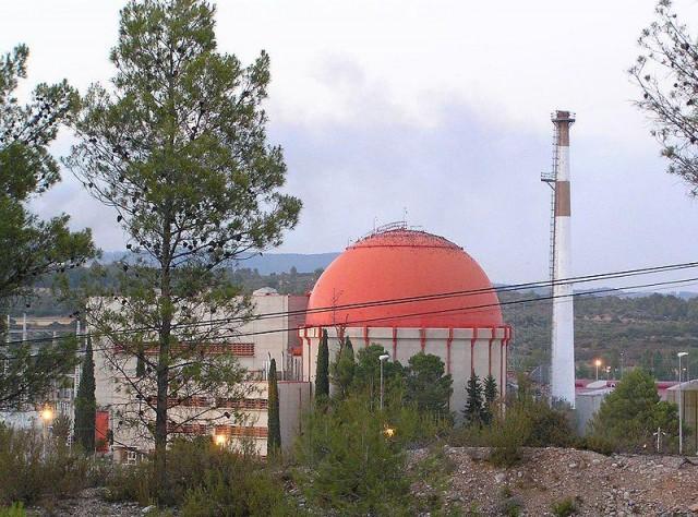 Central Nuclear José Cabrera, a Almonacid de Zorita. Fuente: Wikipedia