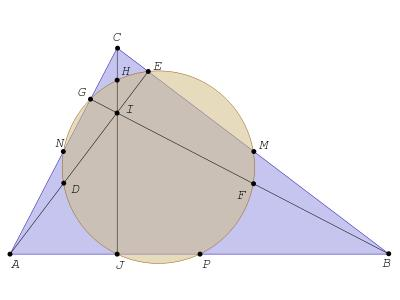 """"""" El círculo de los nueve puntos """", una sociedad científica singular"""