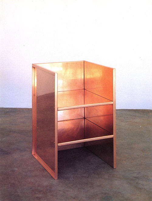 Armchair #47, Donald Judd